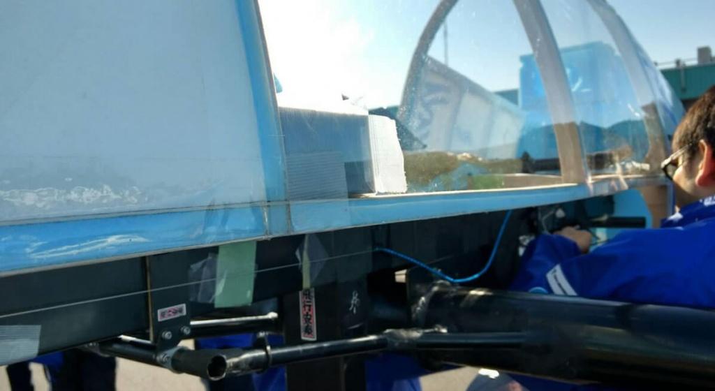 evolta GPSは予備を含めて2台装着